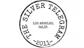 the silver telegram logo